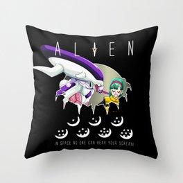 ALIEN DBZ Throw Pillow