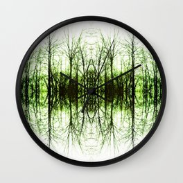 191 - Tree abstract design Wall Clock