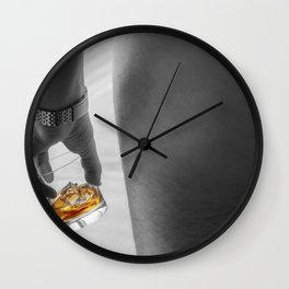 Nude Ambition Wall Clock