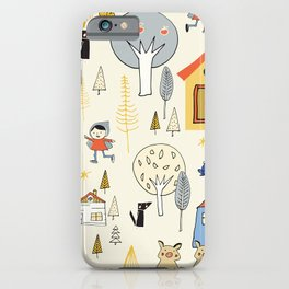 Wonderland Fairy Tale Pearl iPhone Case