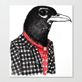 Mister Robin Canvas Print