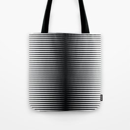 op art - horizontal triangles Tote Bag