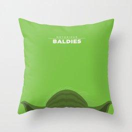 Yoda Throw Pillow