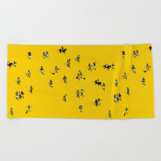 Going Places Beach Towel