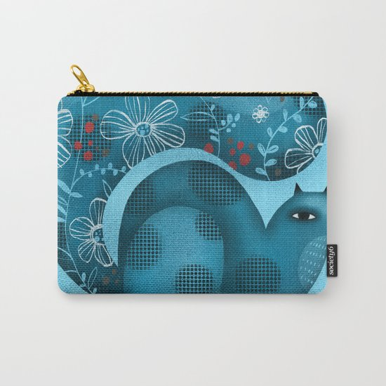 BLUE SQUIRREL Carry-All Pouch
