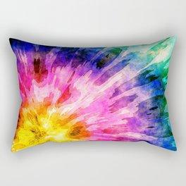 Textured Tie Dye Rectangular Pillow
