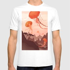 Eclipse Mens Fitted Tee White SMALL
