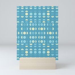 Shades Of Blue On Blue Mini Art Print