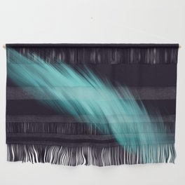 The Blue Feather Wall Hanging