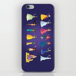 Origami - Follow Your Dreams iPhone Skin