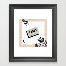 Jungle Mixtape Framed Art Print