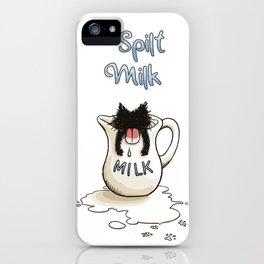 Spilt Milk iPhone Case