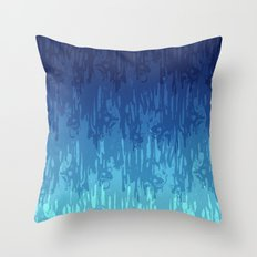 Meltdown Cold Throw Pillow