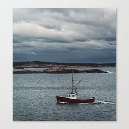 Home from the Seas Canvas Print
