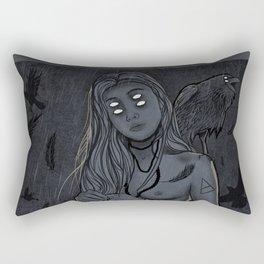 Crowmother Rectangular Pillow