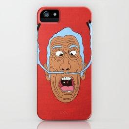 Crazy Dalí (Inverted) iPhone Case