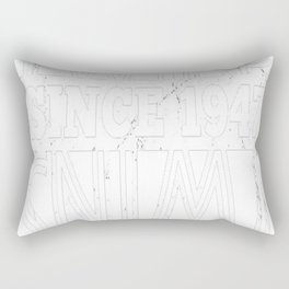 Twins-Since-1947---70th-Birthday-Gifts Rectangular Pillow