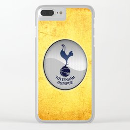 spurs Clear iPhone Case
