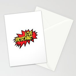 love moschino Stationery Cards