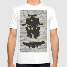 Mother White Mens Fitted Tee SMALL