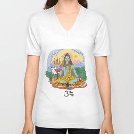 Shiva Unisex V-Neck