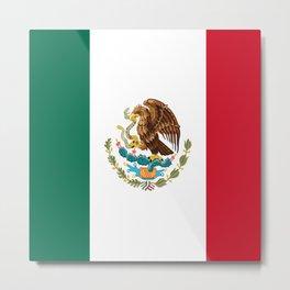 mexican sports fan mexico flag Metal Print