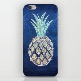 Chalk Pineapple iPhone Skin