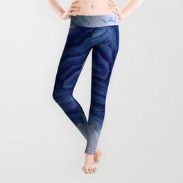 Blue agate crystal's Leggings
