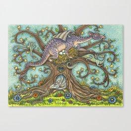 DRAGON TREE Canvas Print