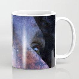 Galaxy woman star Coffee Mug