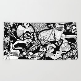 Alcinous Beach Towel