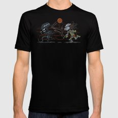 AvsP Mens Fitted Tee Black LARGE