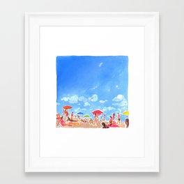 June on the West Coast Framed Art Print