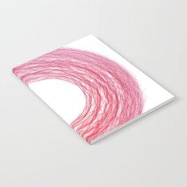 rund 2 - cotton candy swirl Notebook