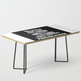 Panther Power Coffee Table