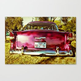 texas wedding Canvas Print