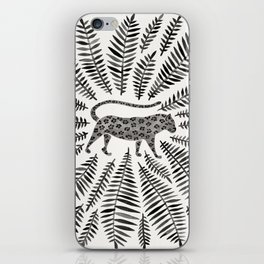 Black Jaguar iPhone Skin