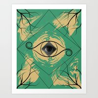 In the Eye of the Beholder Art Print