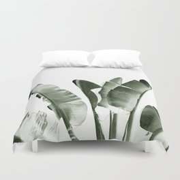 Traveler palm Duvet Cover