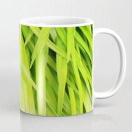 Summer Green Leaves Coffee Mug