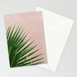 Summer Time | Palm Leaves Photo Stationery Cards