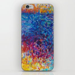 Vibrant Meadow iPhone Skin