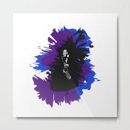 Saxophone Jive Metal Print