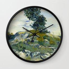 The Rocks Wall Clock
