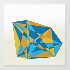 a new geometry Canvas Print