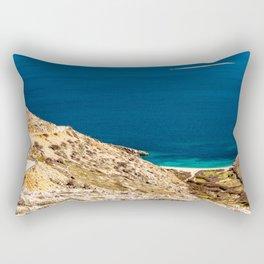 Stara Baska bay in krk Rectangular Pillow