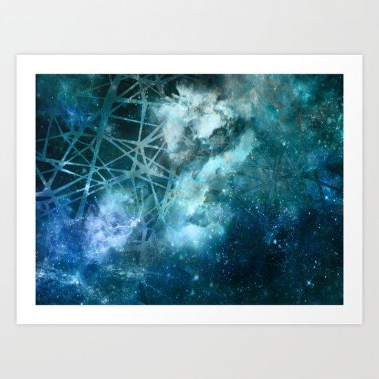 ε Aquarii Art Print