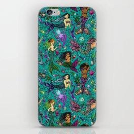 Ethnic Mermaid's iPhone Skin