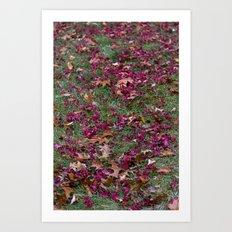 Purple Trail Art Print