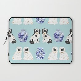 Staffordshire Dogs + Ginger Jars No. 7 Laptop Sleeve